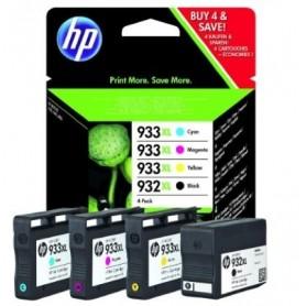 HP 932 XL 933 XL PACK COLORES ORIGINAL