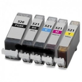 Canon CLI521 PACK 10 COMPATIBLE