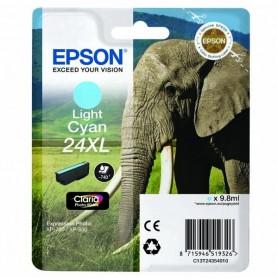 Epson T24 XL CIAN CLARO ORIGINAL