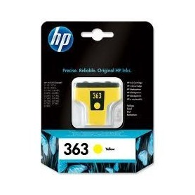 HP 363 XL AMARILLO ORIGINAL