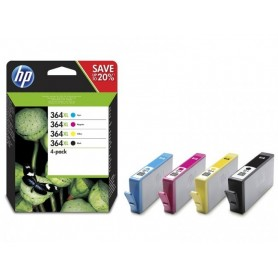 HP 364 XL PACK 4 COLORES...