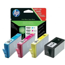HP 920 XL PACK 4 COLORES...