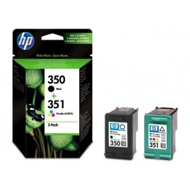 HP 350 / 351 PACK 2 CARTUCHOS ORIGINAL