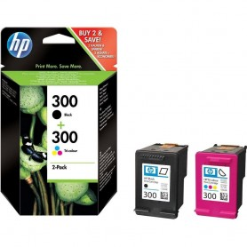 HP 300 NEGRO Y COLOR PACK 2...