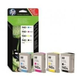 HP 940 XL PACK 4 CARTUCHOS...