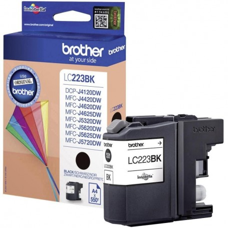 Brother LC223 NEGRO ORIGINAL