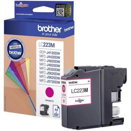 Brother LC223 MAGENTA ORIGINAL