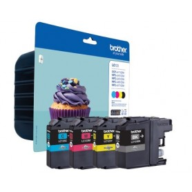 Brother LC123 PACK 4 COLORES ORIGINAL