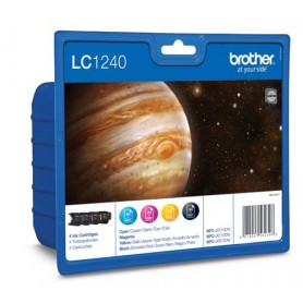 Brother LC1240 PACK 4 COLORES ORIGINAL