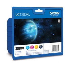 Brother LC1280 XL PACK 4 COLORES ORIGINAL