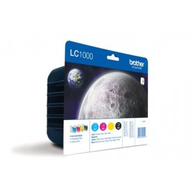 Brother LC1000 PACK 4 COLORES ORIGINAL