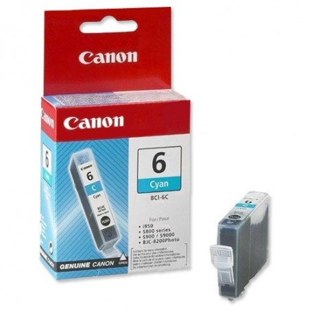 Canon BCI-6 CIAN ORIGINAL