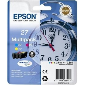 Epson T2705 PACK 3 COLORES ORIGINAL