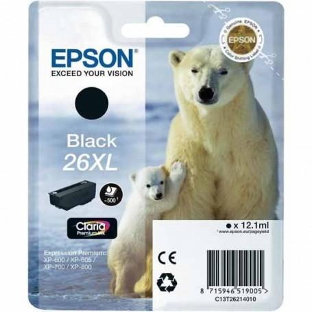 Epson T2621 XL NEGRO ORIGINAL