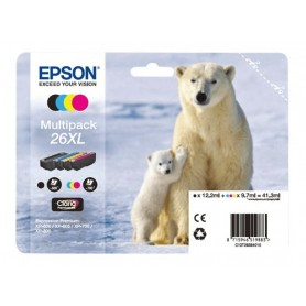 Epson T2636 XL PACK 4 CARTUCHOS ORIGINAL