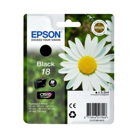 Epson T18 NEGRO ORIGINAL