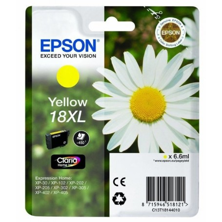 Epson T18 XL AMARILLO ORIGINAL