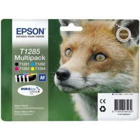 Epson T1285 PACK 4 COLORES ORIGINAL