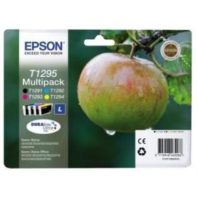 Epson T1295 PACK 4 COLORES ORIGINAL
