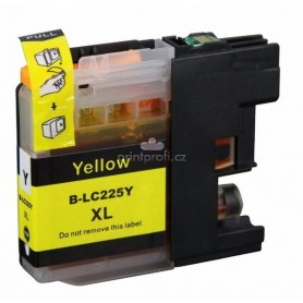 Brother LC225 AMARILLO COMPATIBLE