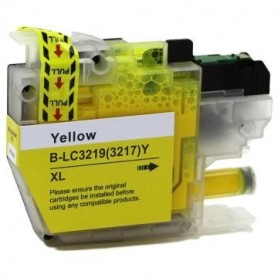 Brother LC3219 AMARILLO COMPATIBLE