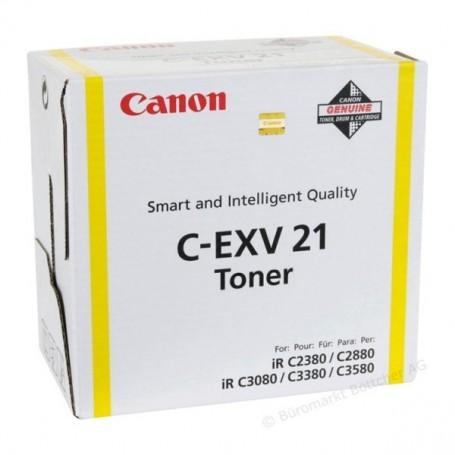 CANON CEXV21 AMARILLO ORIGINAL