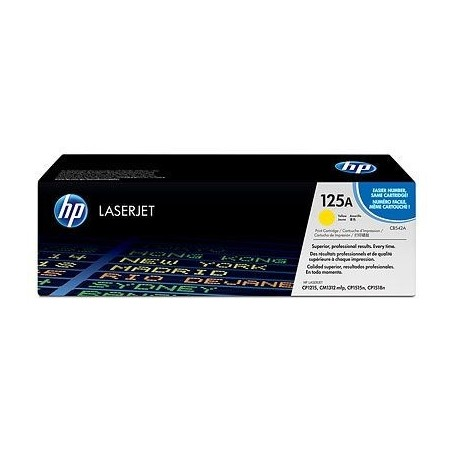 HP CB542A AMARILLO ORIGINAL