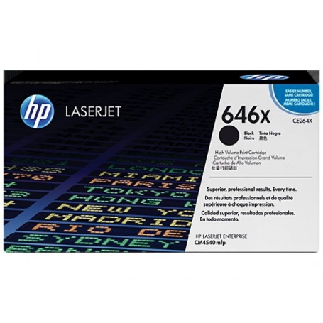 HP CE264X NEGRO ORIGINAL