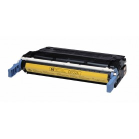 HP C9722A AMARILLO ORIGINAL