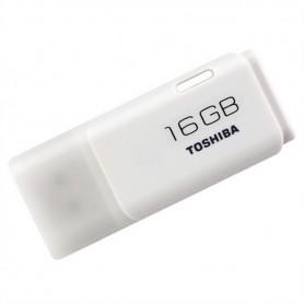 MEMORIA USB 2.0 - 16GB PENDRIVE BLANCO TOSHIBA HAYABUSA