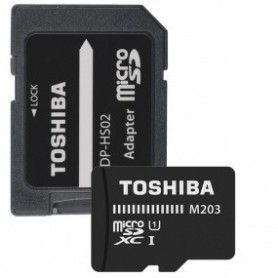 Toshiba THNM203K0640EA Micro SDXC 64GB Clase 10 100MBs UHSI  Adaptador SD