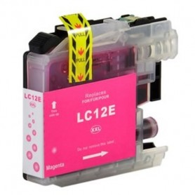 Brother LC-12E MAGENTA COMPATIBLE
