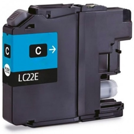 Brother LC-22E CIAN COMPATIBLE