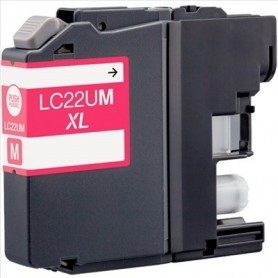 Brother LC-22U MAGENTA COMPATIBLE