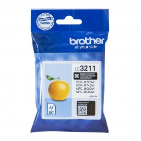 Brother LC3211 NEGRO ORIGINAL