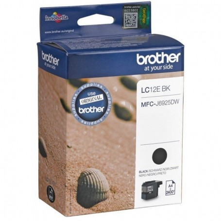 Brother LC-12E NEGRO ORIGINAL