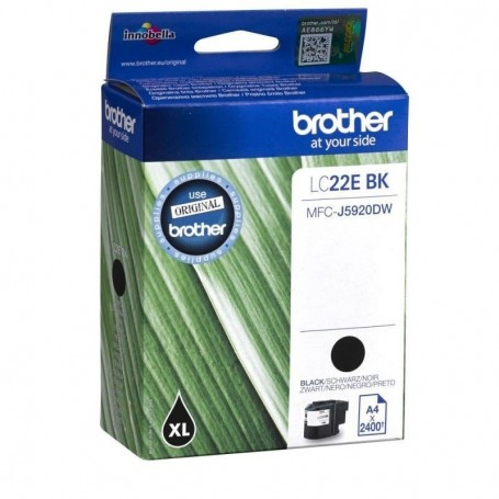 Brother LC-22E NEGRO ORIGINAL