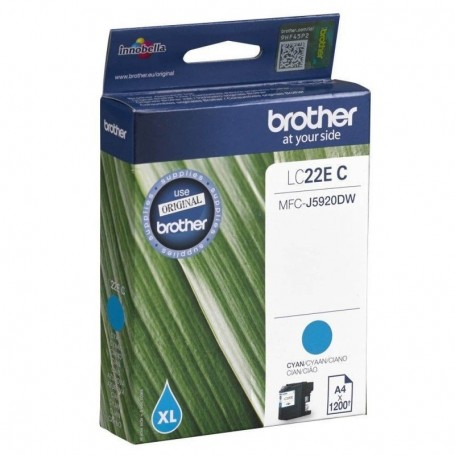 Brother LC-22E CIAN ORIGINAL