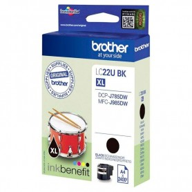 Brother LC-22U NEGRO ORIGINAL