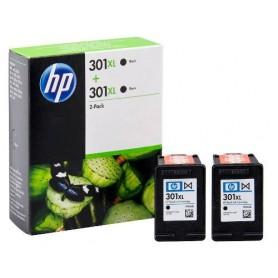 HP 301 XL NEGRO MULTIPACK...