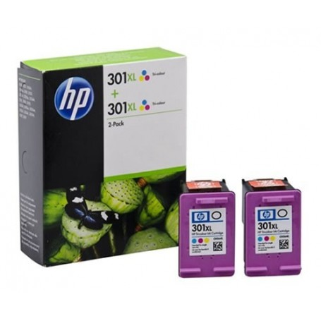 HP 301 XL COLOR PACK 2...