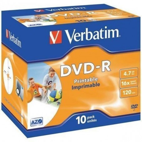VERBATIM DVDR PRINTABLE...