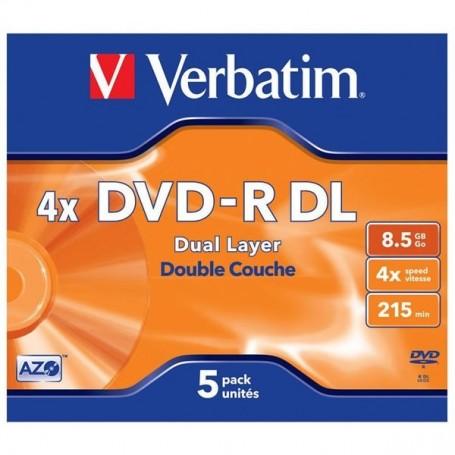 VERBATIM DVD-R DOBLE CAPA...