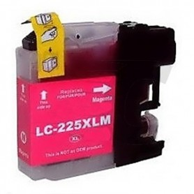 Brother LC225 MAGENTA COMPATIBLE