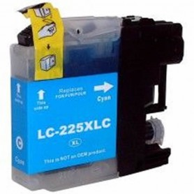 Brother LC225 CIAN COMPATIBLE