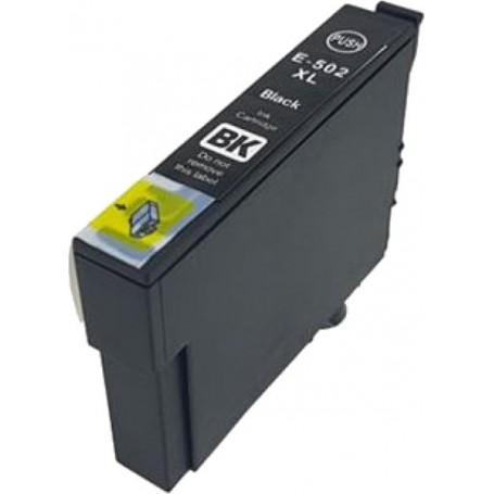 Epson 502XL NEGRO COMPATIBLE