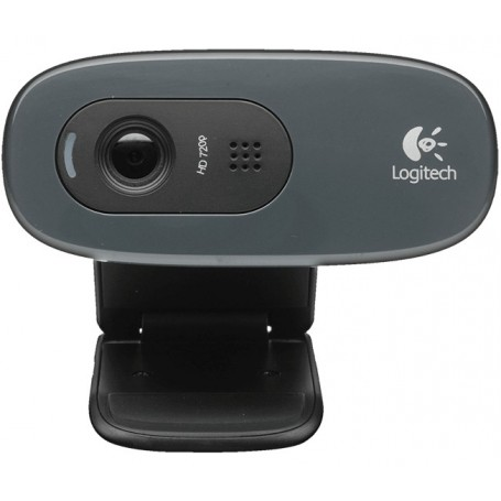 Logitech 960001063 Webcam C270 HD 3Mpx Negra