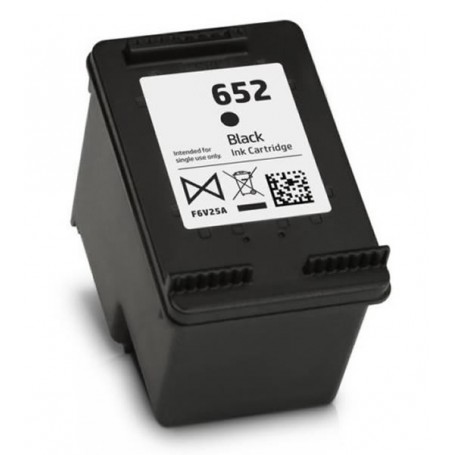 HP 652 XL NEGRO COMPATIBLE