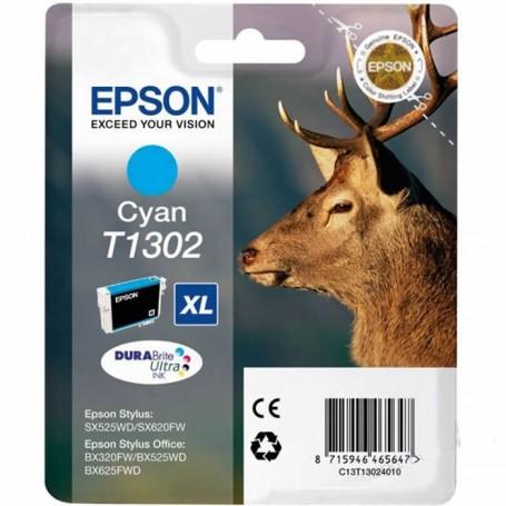 Epson T1302 XL CIAN ORIGINAL