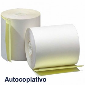 Rollo de Papel Autocopiativo 57x65x12 mm (10 Uds)
